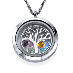 Charm Medaillon -Familienstammbaum Produktfoto