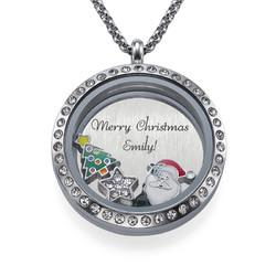 Charm Medaillon - Frohe Weihnachten Produktfoto