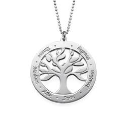 """Gravierbare """"Baum des Lebens""""-Kette für Mama Produktfoto"""