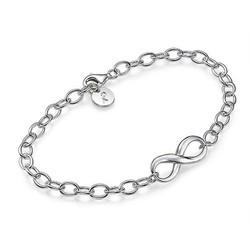 925er Silber Infinity - Unendlich Armband Produktfoto