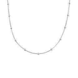 Bobble Halskette aus 925er Sterling Silber Produktfoto