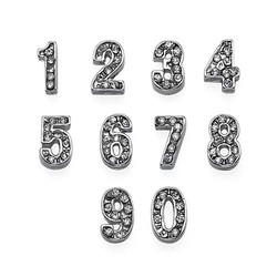 Zahlen Charms Produktfoto