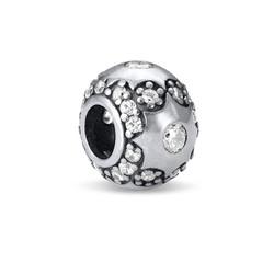 Sternchen Charm-Perle mit Zirkonia Kristallen Produktfoto