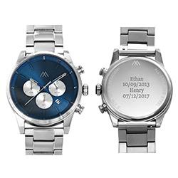 Quest Chronograph Herren Uhr - Edelstahl Produktfoto