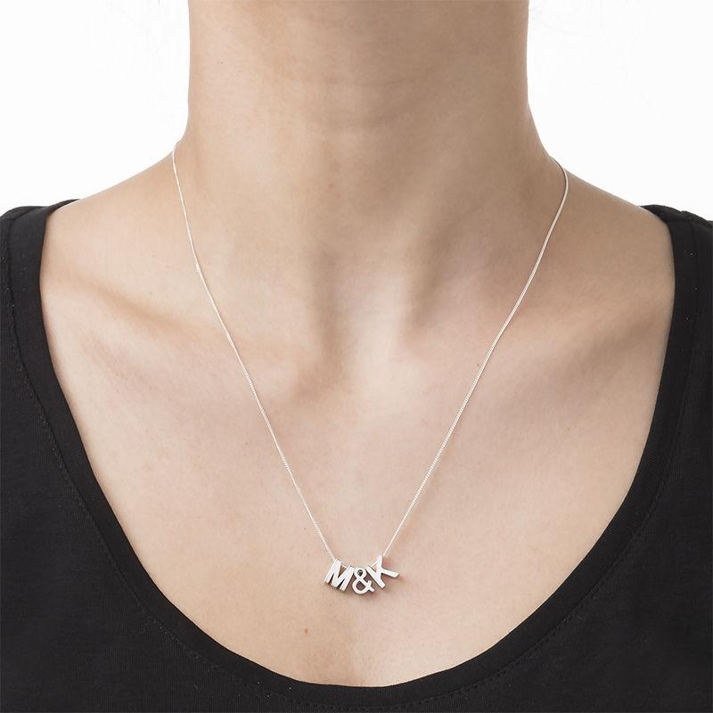 Personlig bogstav halskæde - 3