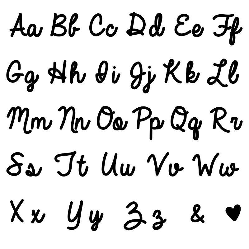 Håndskrift halskæde med navn i sterlingsølv - 3