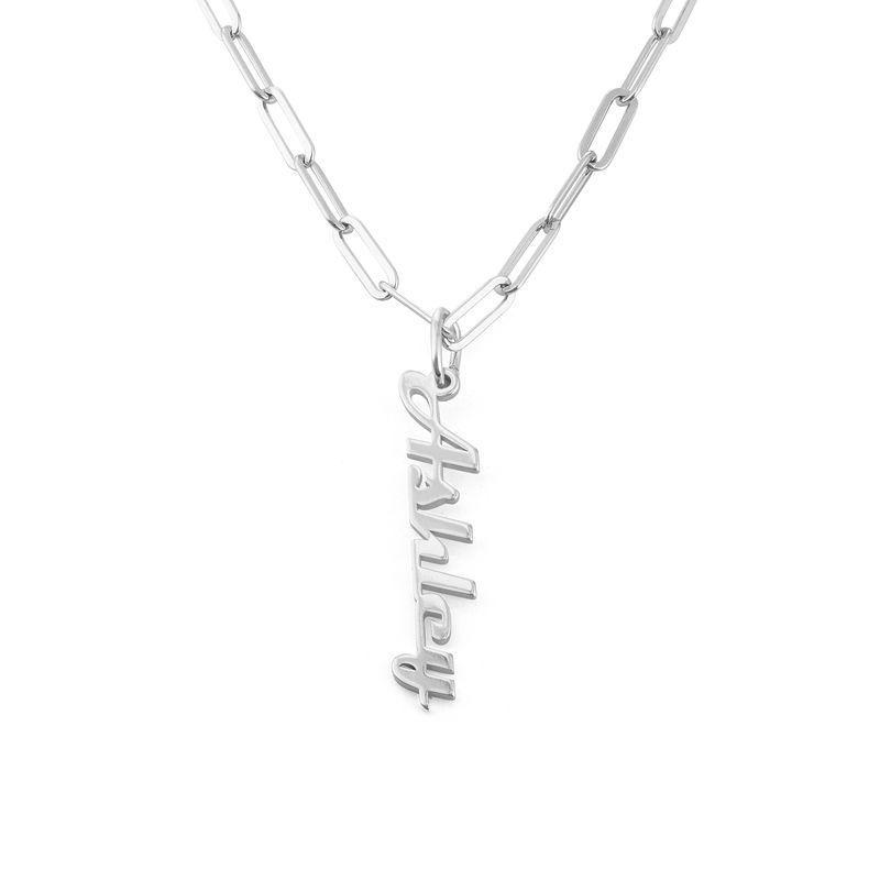 Link halskæde med navni Sterlingsølv - 2