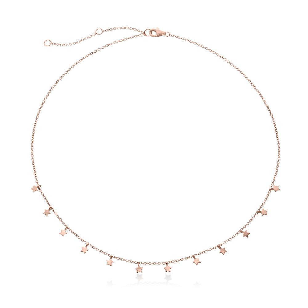 Stjerne halskæde - forgyldt - 1