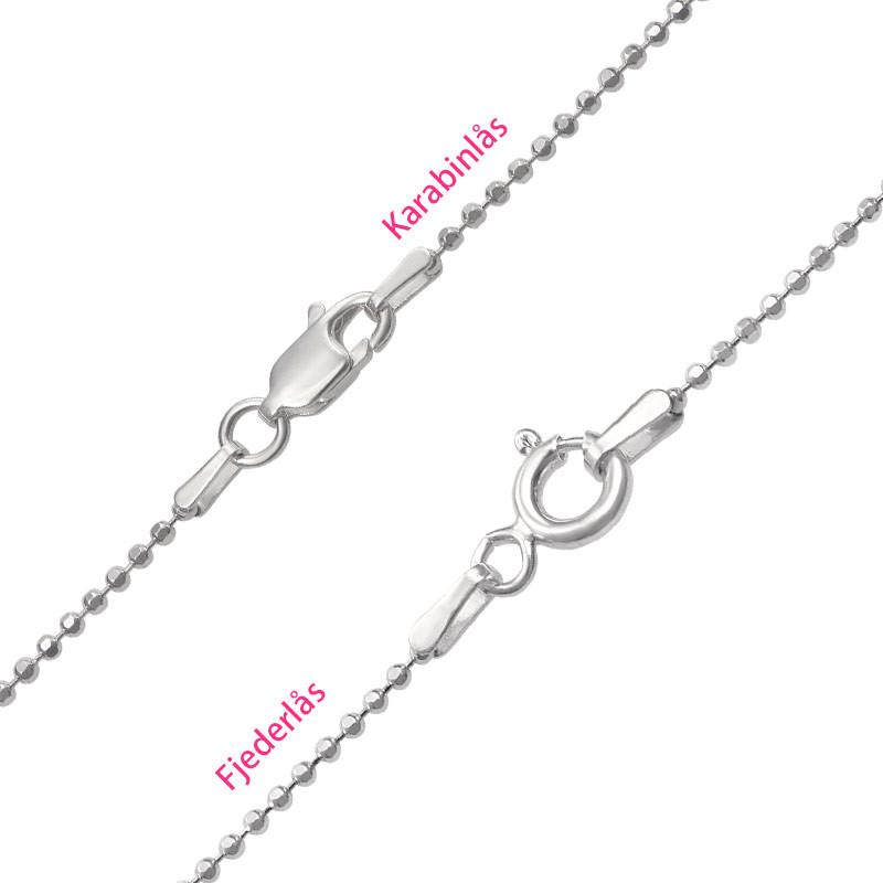 Livets træ halskæde til mor i sølv - 3