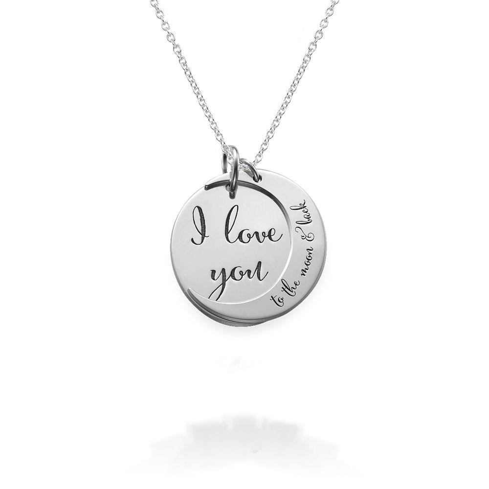 Jeg Elsker Dig til Månen og Tilbage Igen-Halskæde