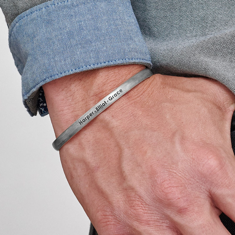 Smalt bangle armbånd til mænd - 2