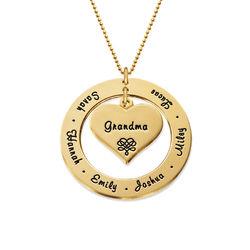 Familie halskæde i 10 karat guld product photo