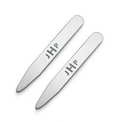 Kravestivere med initialer i sølv produkt billede