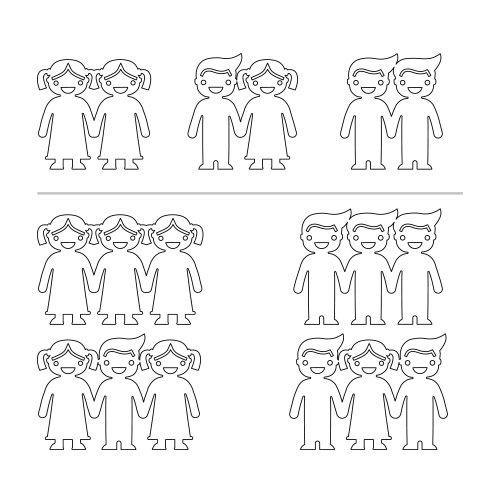 Armbånd med Børn Hånd i Hånd - 4