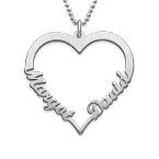 Evig Kærlighed Hjertehalskæde