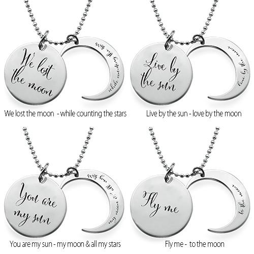 Jeg Elsker Dig til Månen og Tilbage Igen-Halskæde - 2