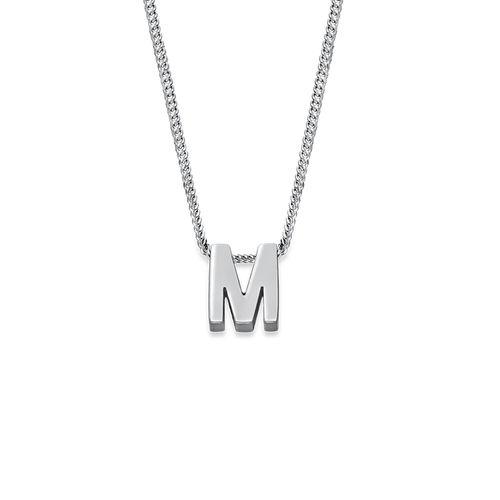 Personlig bogstav halskæde - 2