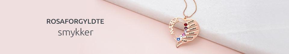 18 karat rosa guld
