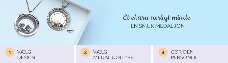 Flydende medaljon