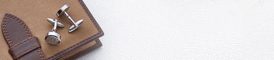 manchetknapper med initialer