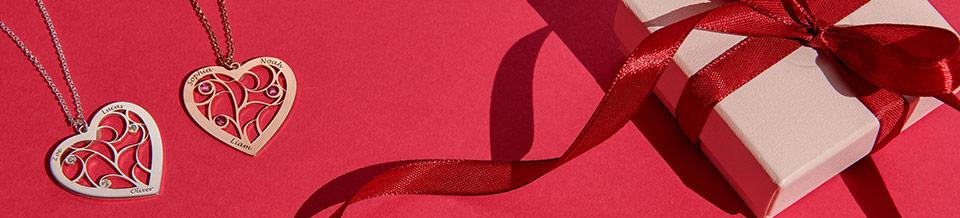 Hvad er den perfekte smykkegave til valentinsdag?