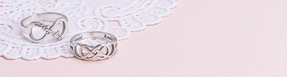 Infinity ring: Specielle smykker med mange betydninger