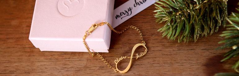 5 Bedste Infinity smykker som julegaver