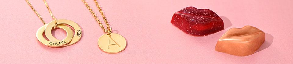 runde smykker med navn