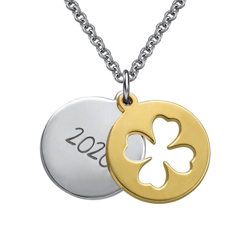 Collar de graduación Amuleto de la suerte foto de producto