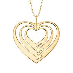 Sydän kaulakoru, 10K kulta tuotekuva