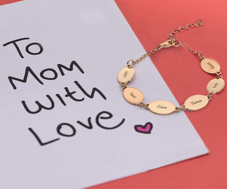 Des Bijoux personnalisés que maman va adorer
