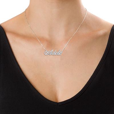 mon collier prenom or blanc