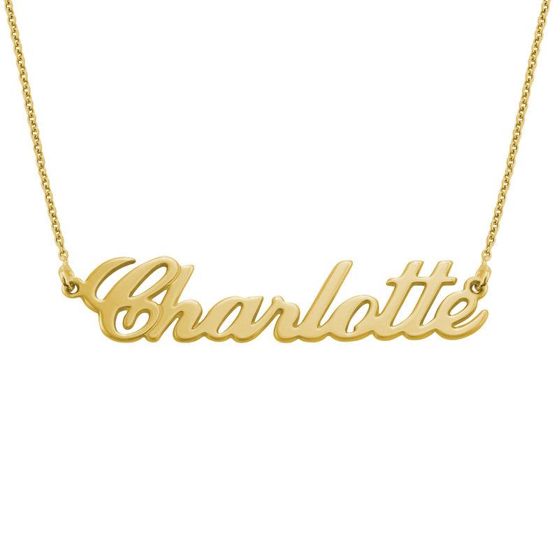 Collier Plaqué Or 18ct Personnalisable Carrie Bradshaw - 2