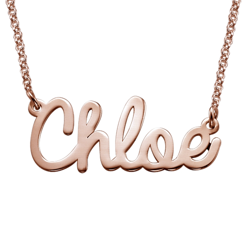 mon collier prenom or
