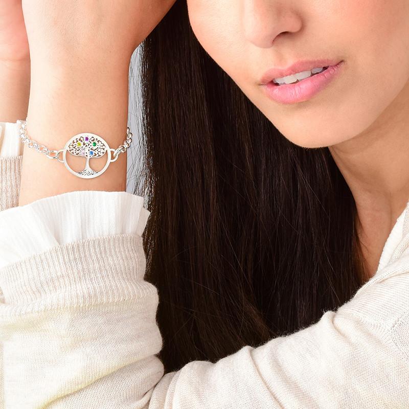 Bracelet Arbre de Vie et pierres de naissance - 4