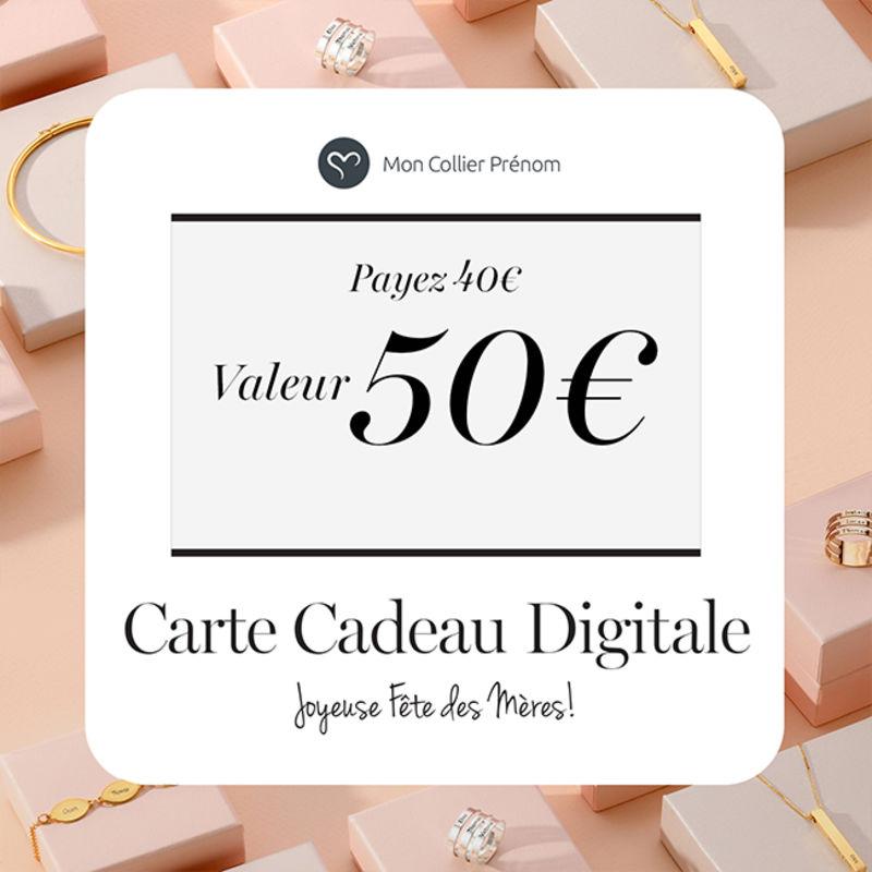 Carte Cadeau Digitale - Offrez leur le Montant de votre Choix