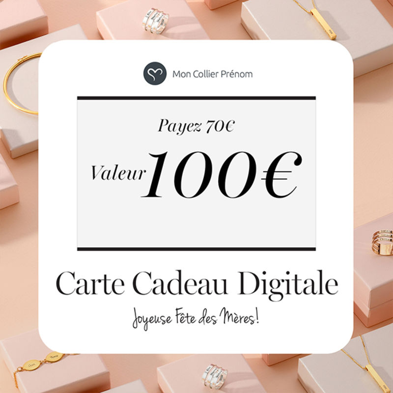 Carte Cadeau Digitale - Offrez leur le Montant de votre Choix - 2