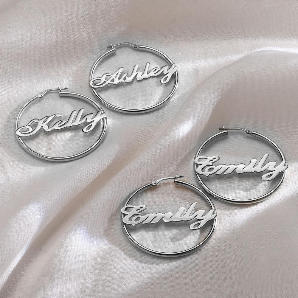 Boucles d'oreilles Créoles Personnalisable - 1