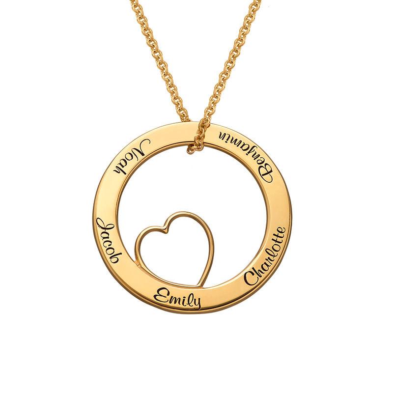 Collier « Famille » avec pendentif Love
