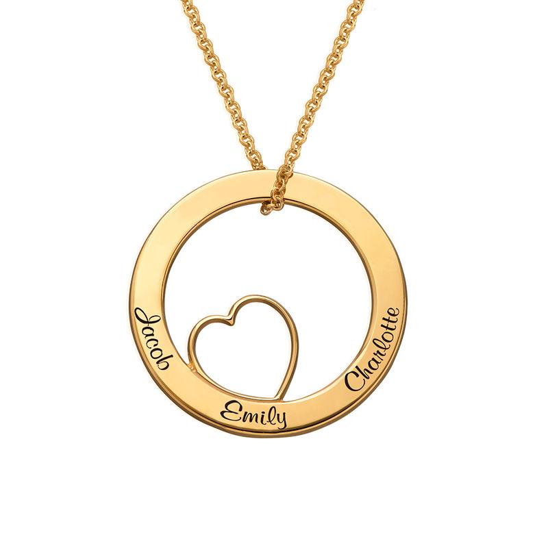 Collier « Famille » avec pendentif Love - 1