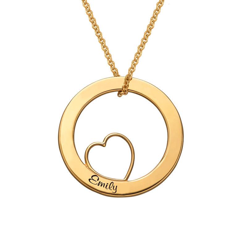 Collier « Famille » avec pendentif Love - 2