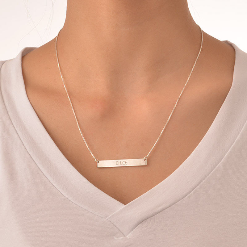 Collier barre horizontale - 1