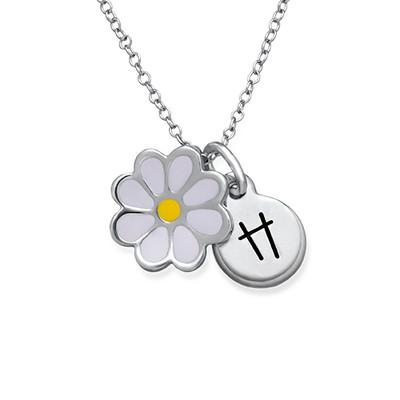 Collier Fleur Marguerite pour Enfants