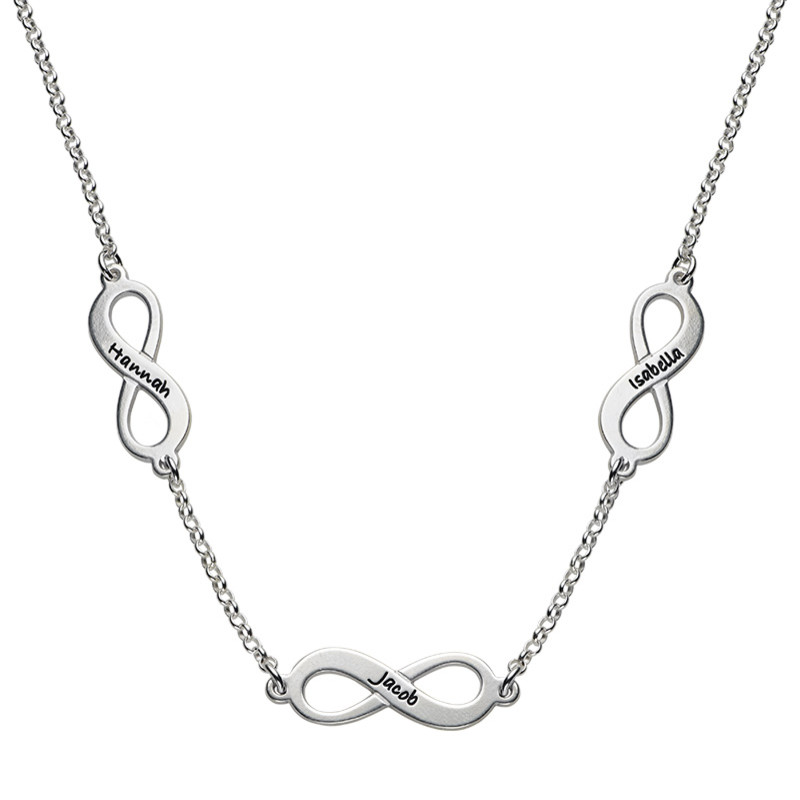 Collier Multiple Infini en Argent