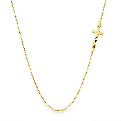Collier Croix Personnalisée - 1