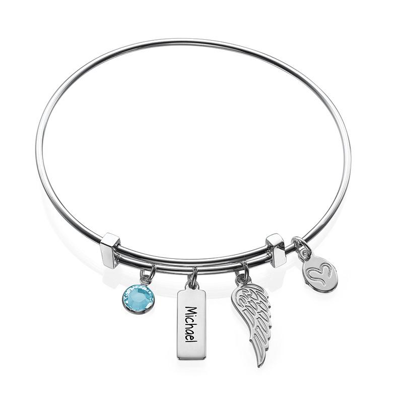 Bracelet Jonc « Aile d'Ange »