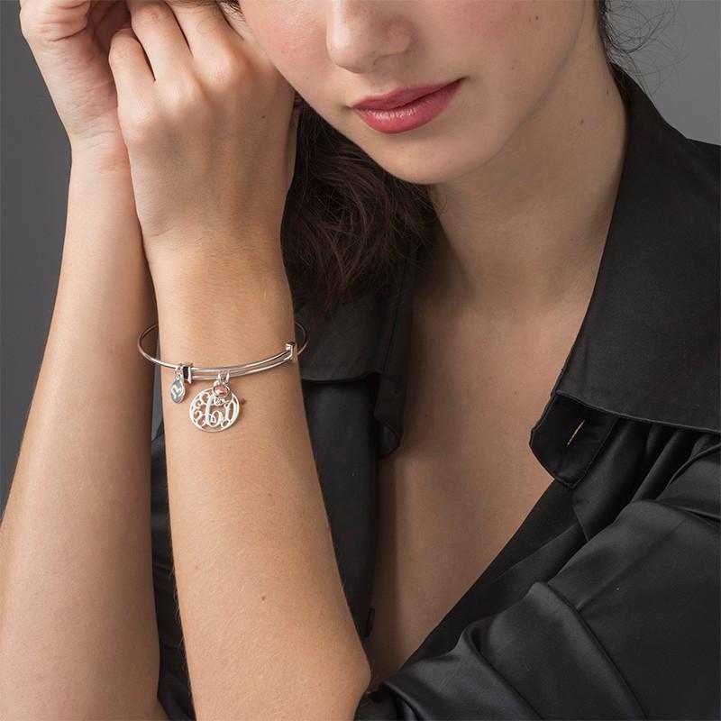 Bracelet Jonc Monogram avec charms - 2