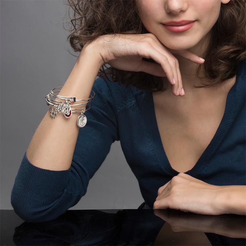 Bracelet Jonc Monogram avec charms - 3