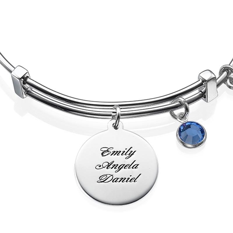 Bracelet Jonc avec pendentif Arbre de Vie - 1