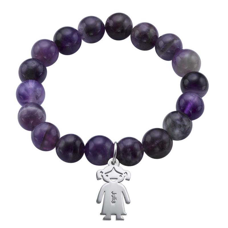 Bracelet de Perles avec Pendentif enfants